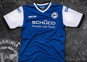 Camiseta titular Sport-Saller del Arminia Bielefeld para 2016/2017 | Foto web oficial