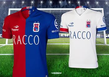 Camisetas del Paraná Clube de Brasil para 2016 | Foto Topper