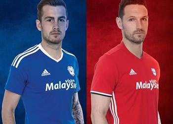Nueva casacas del Cardiff City | Imágenes Web Oficial