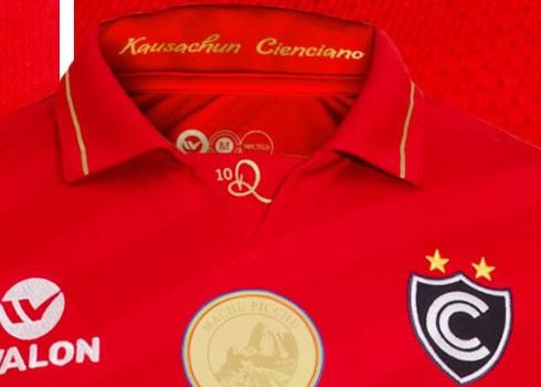 Camiseta especial del Cienciano | Foto Walon