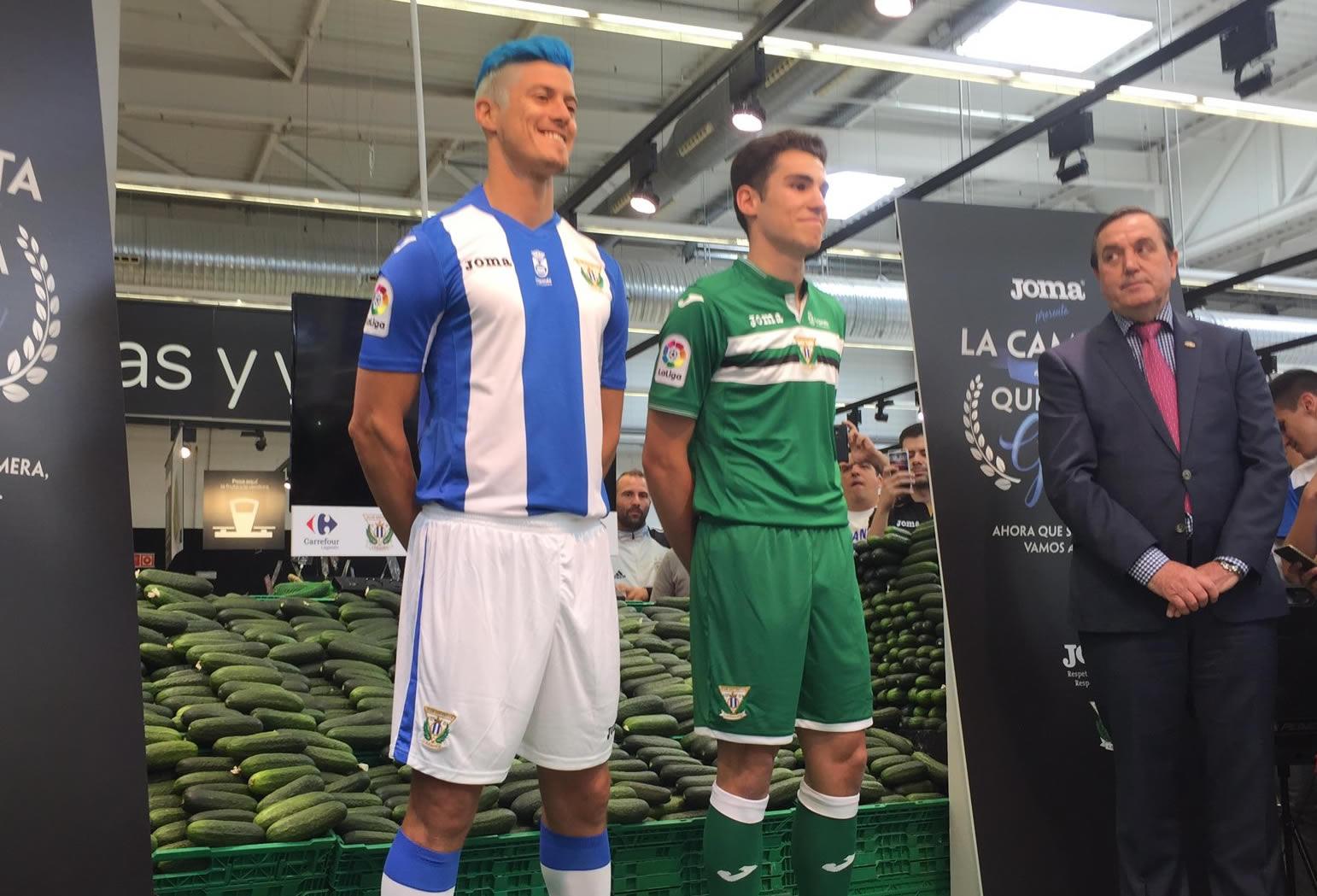 Camisetas del Leganés | Foto Twitter Oficial