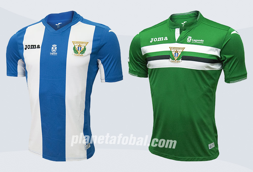 Las camisetas del Leganés | Imágenes Web Oficial