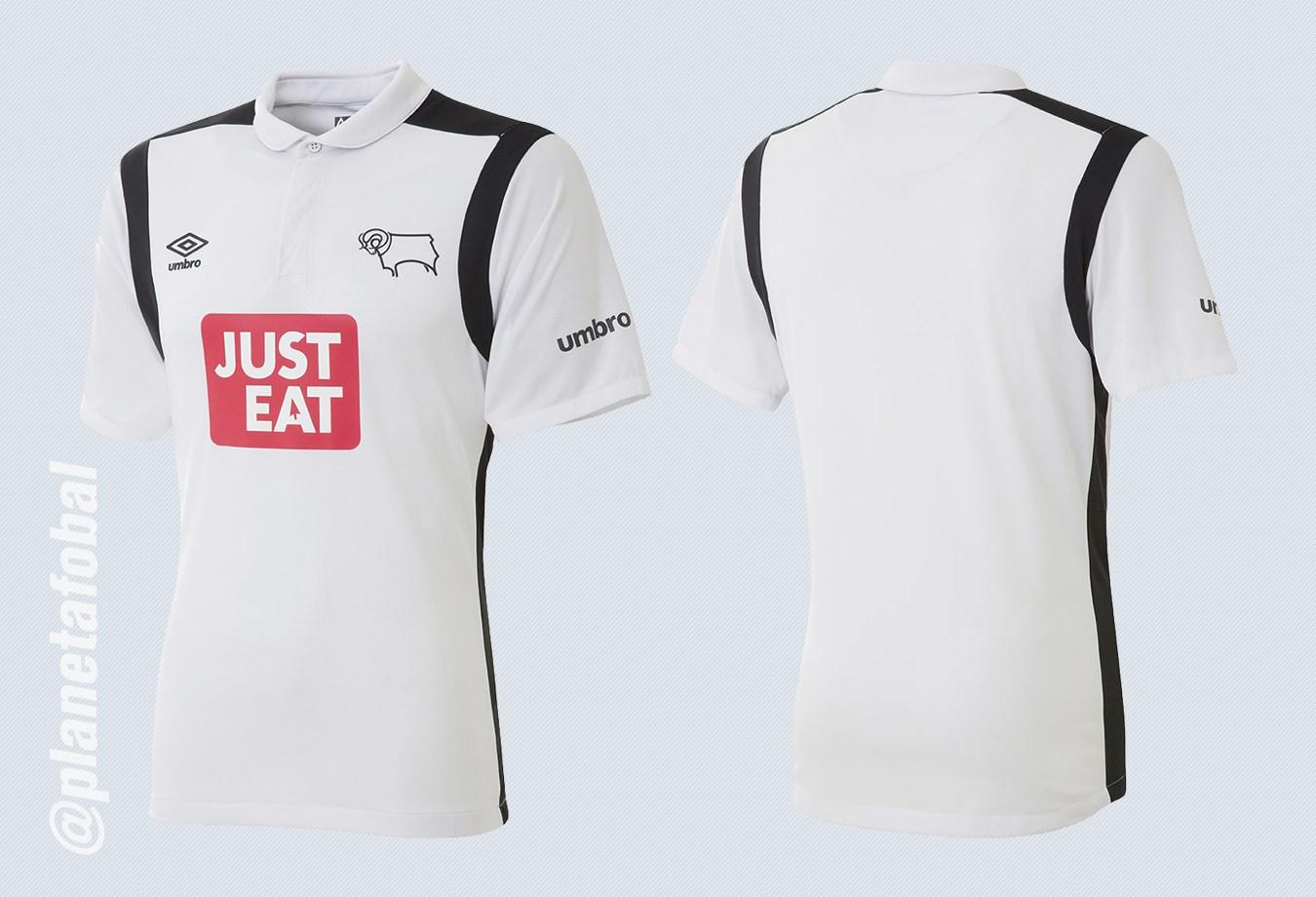 Nueva casaca del Derby County | Imágenes Web Oficial