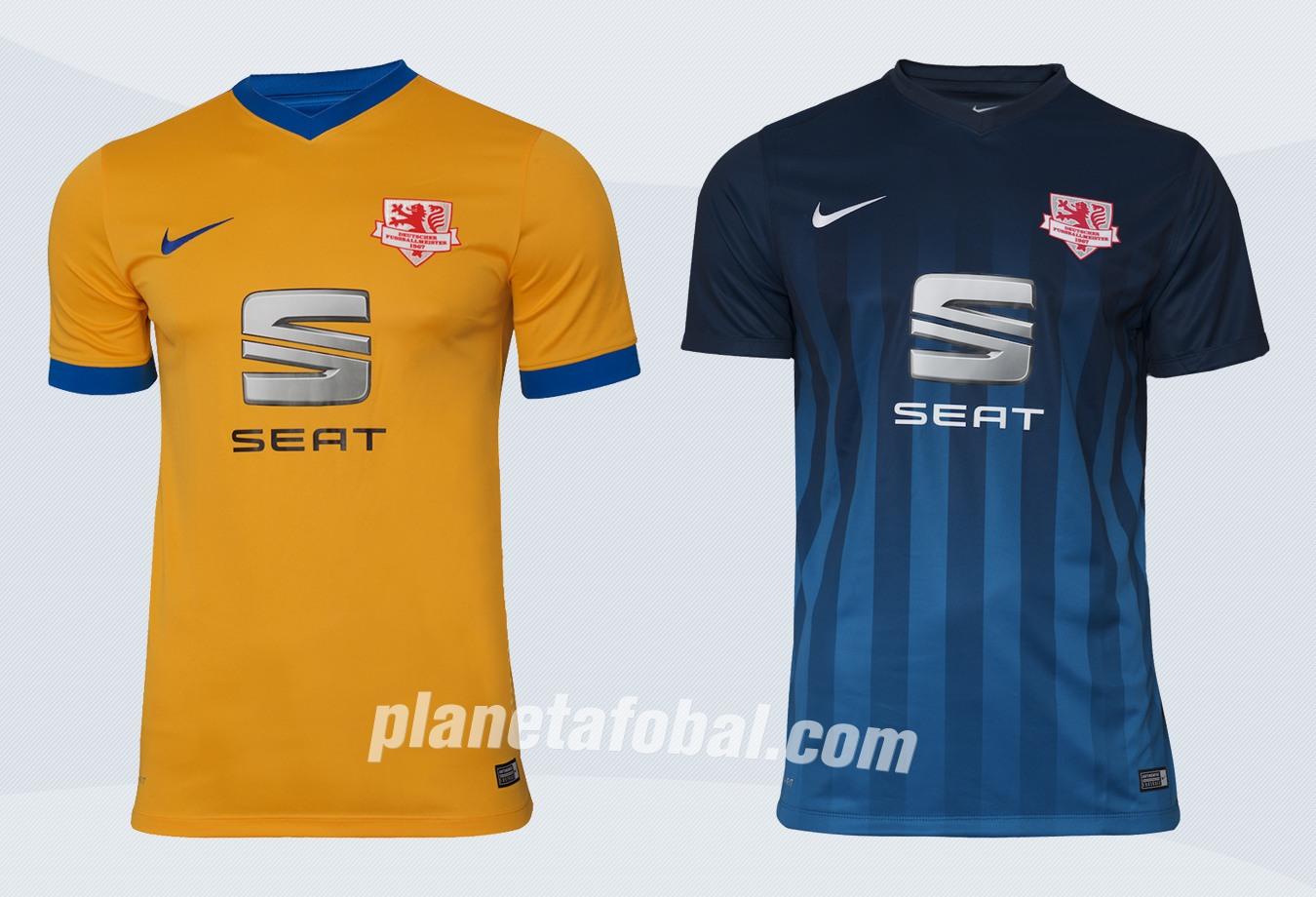 Nuevas camisetas del Eintracht Braunschweig | Imágenes Web Oficial