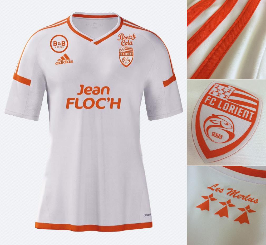 Nueva casaca del Lorient | Imágenes Web Oficial