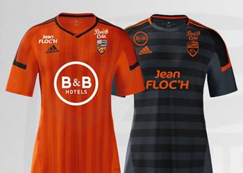 Nuevas camisetas del FC Lorient | Foto Web Oficial