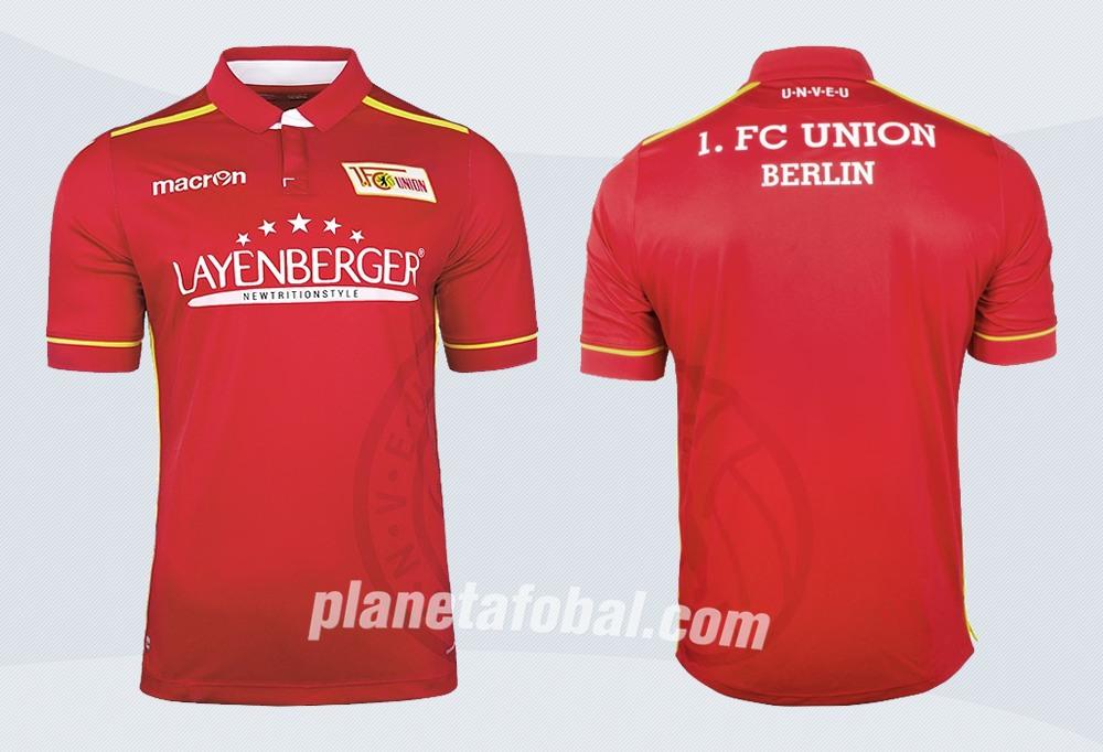 Camiseta titular del FC Union Berlín | Imágenes Web Oficial