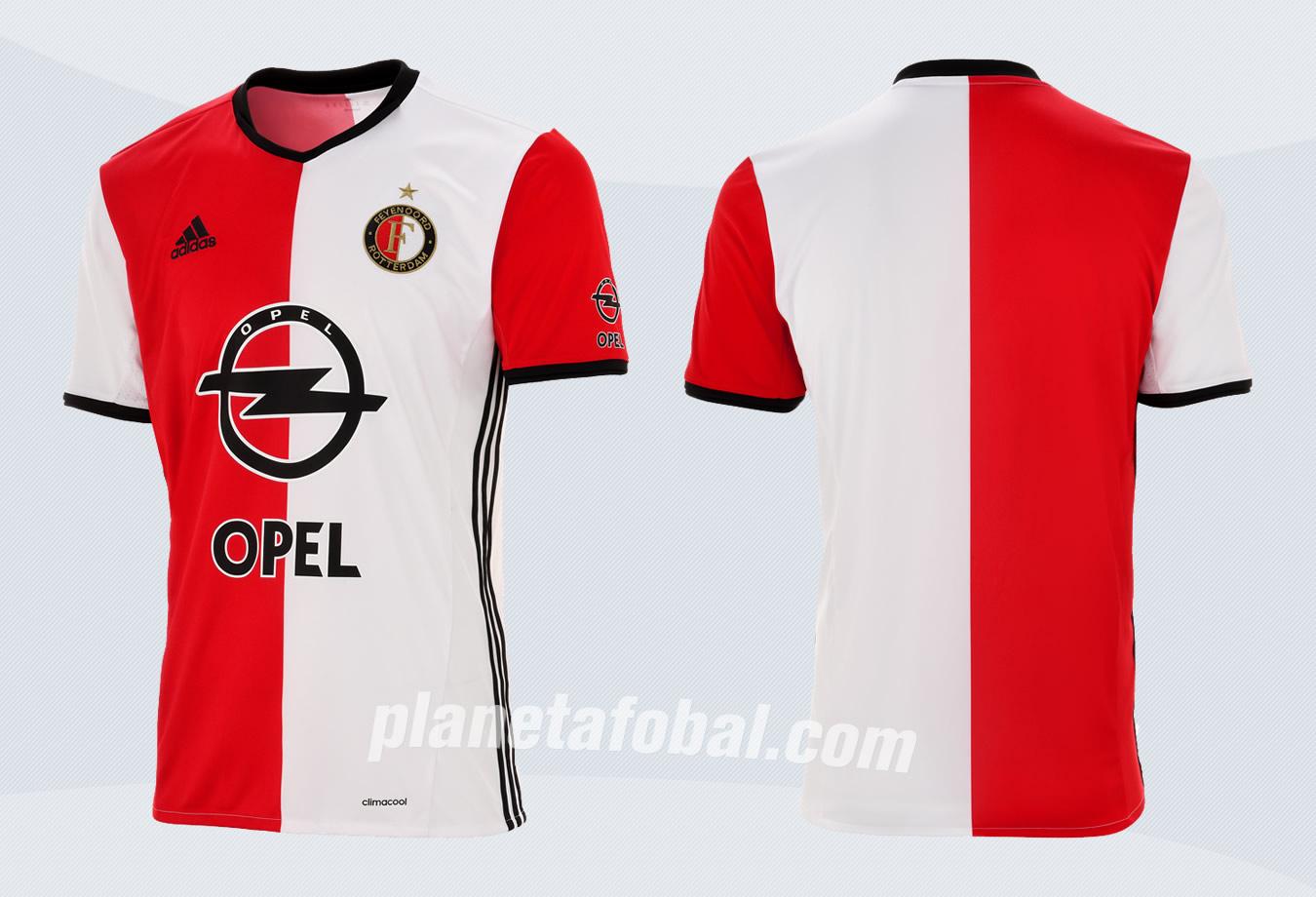 Nueva camiseta del Feyenoord | Imágenes Web Oficial