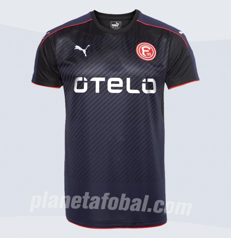 Nueva casaca del Fortuna Düsseldorf | Foto Web Oficial