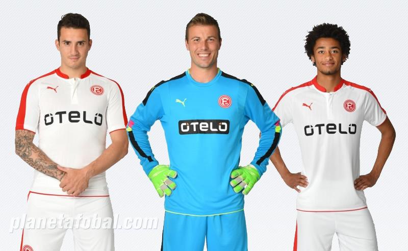 Nueva camiseta del Fortuna Düsseldorf | Imágenes Web Oficial