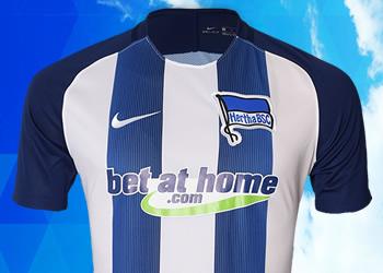 Nueva casaca del Hertha Berlín | Foto Web Oficial