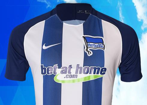 Nueva casaca del Hertha Berlín   Foto Web Oficial