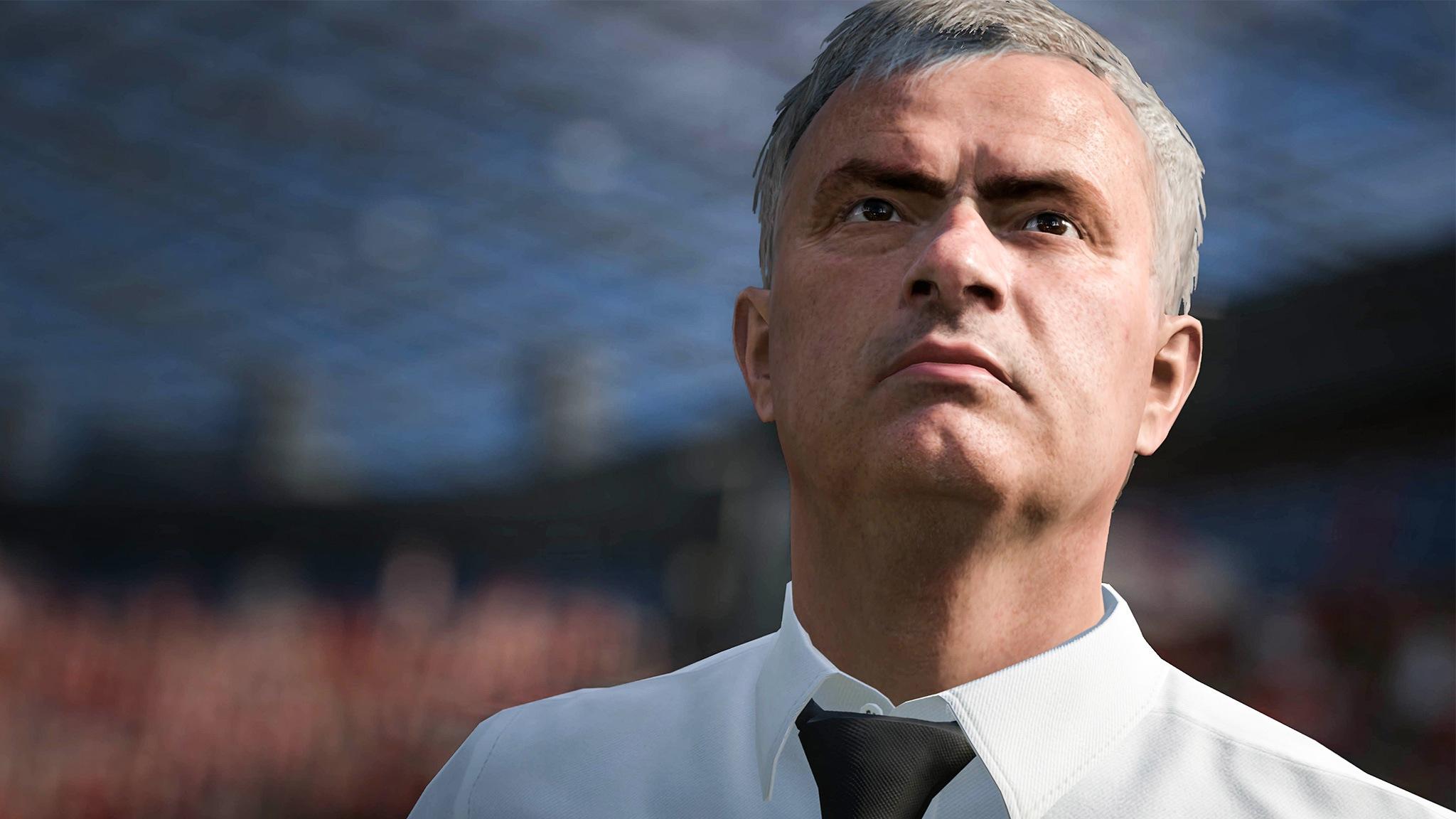 Versión de José Mourinho | Foto EA Sports