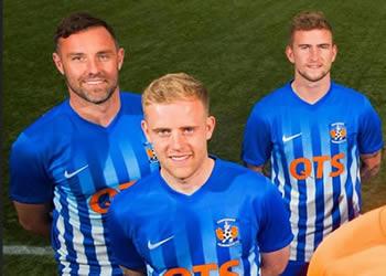 Nueva camiseta del Kilmarnock FC | Foto Web Oficial