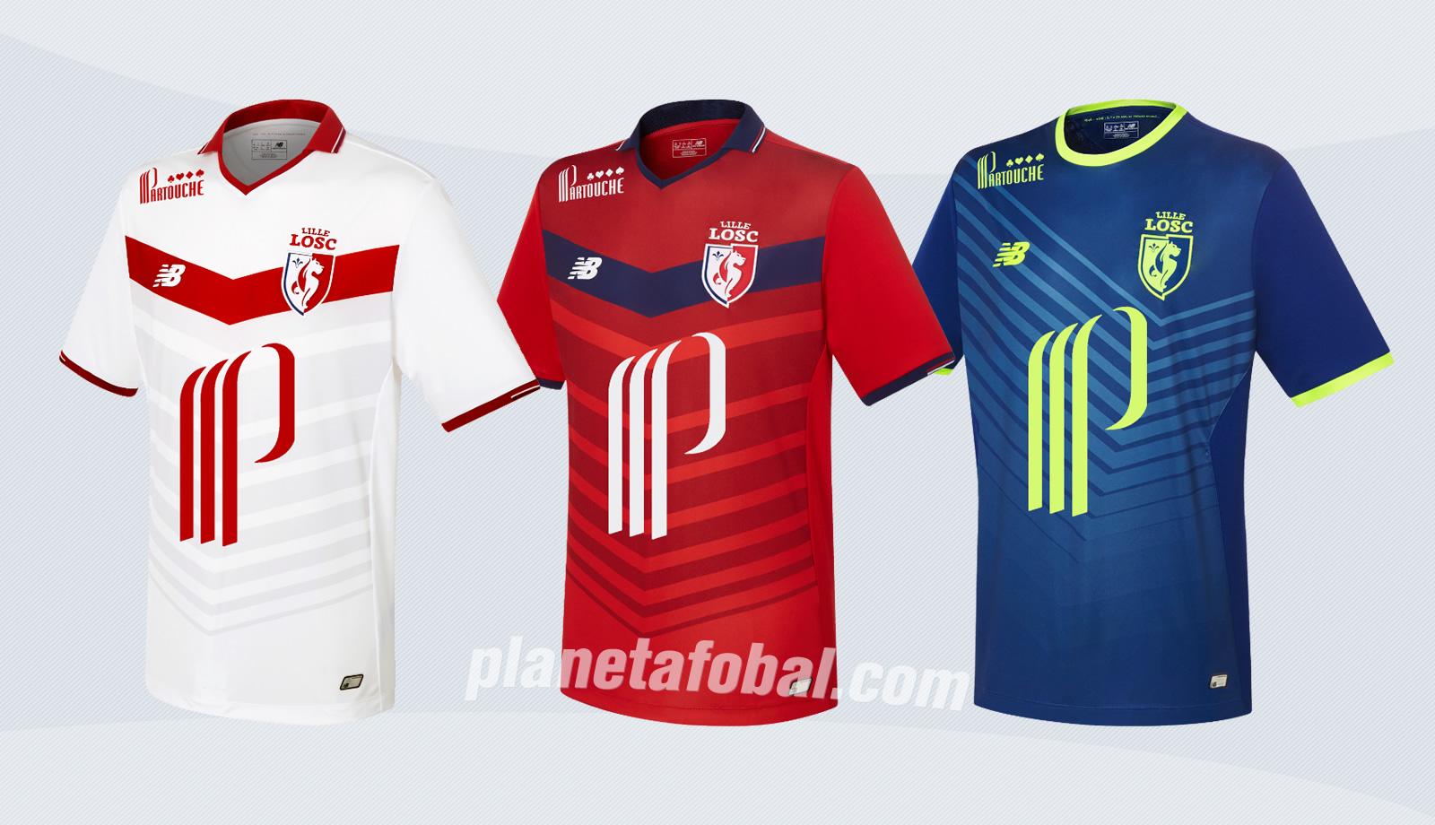Camisetas del LOSC Lille | Imágenes New Balance