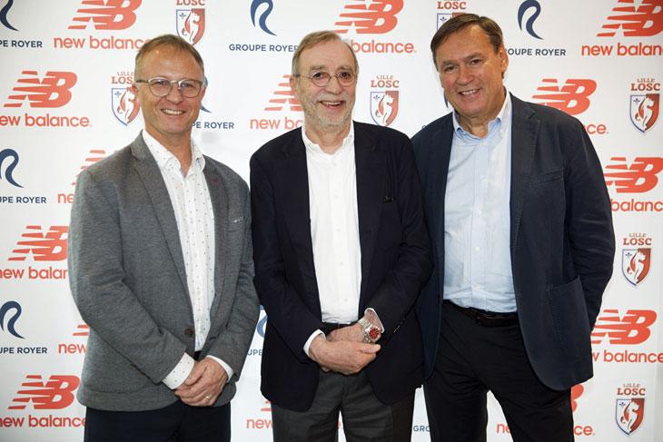 New Balance vestirá al Lille | Foto Web Oficial
