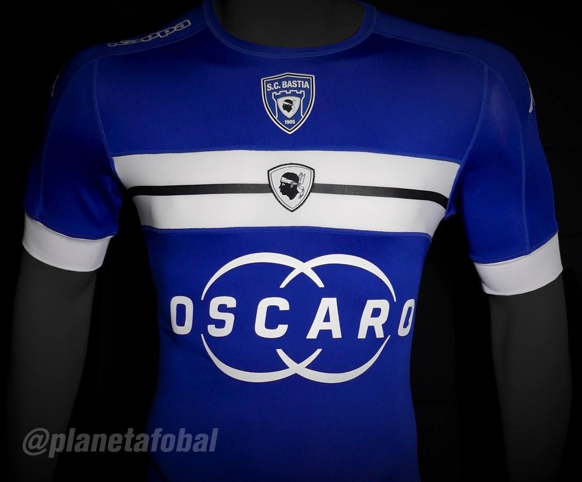 Nueva camiseta del Bastia | Foto Kappa