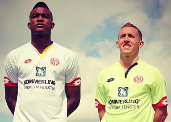 Nuevas casacas del Mainz 05 | Foto Instagram Oficial