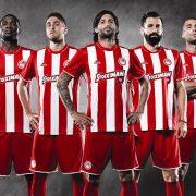 Nueva camiseta del Olympiacos | Foto Adidas