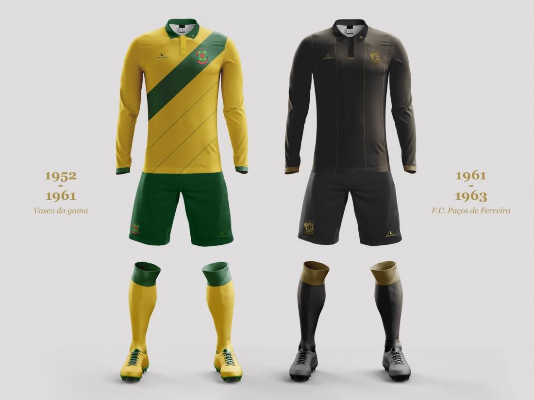 Camisetas del Paços de Ferreira | Foto Web Oficial