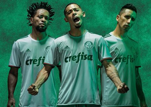 Nueva camiseta del Palmeiras | Foto Adidas