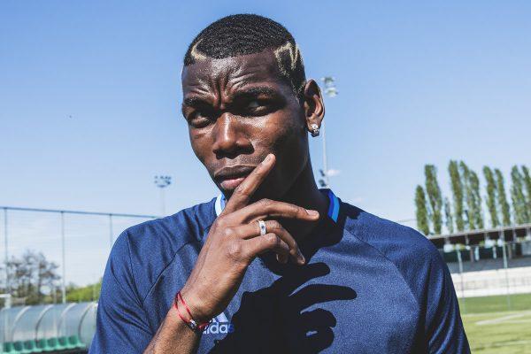 Pogba en el video First Never Follows | Foto Adidas