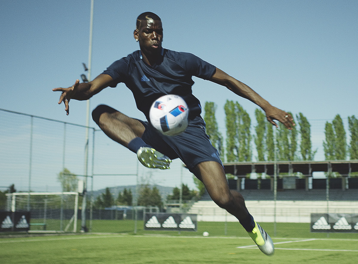 Pogba en el video First Never Follows | Foto Adidas