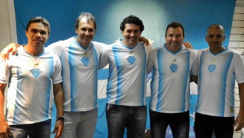 Varios jugadores de ese partido con la casaca | Foto Web Oficial