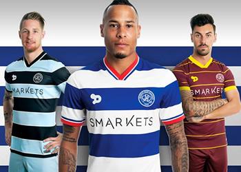 Nuevas camisetas del QPR | Foto Web Oficial