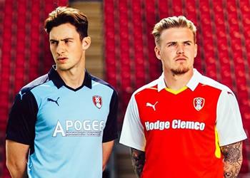 Nuevas casacas del Rotherham United | Foto Web Oficial