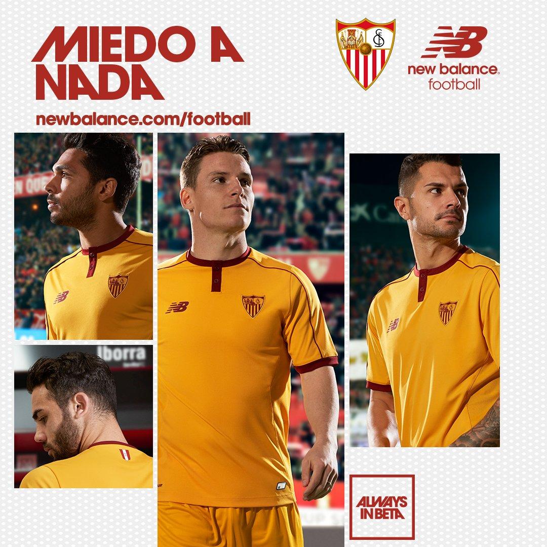 Tercera equipación del Sevilla FC | Foto Twitter Oficial