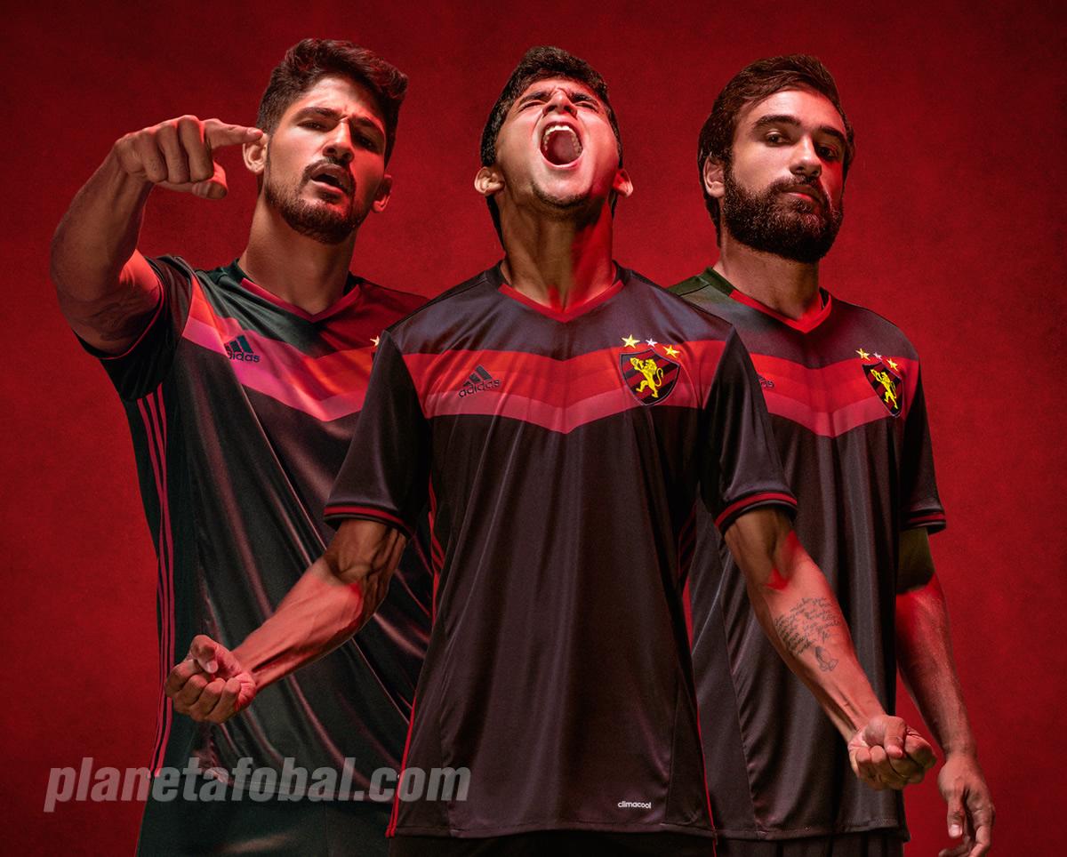 Nueva casaca del Sport Recife | Foto Web Oficial