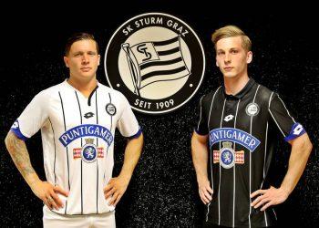 Nuevas casacas del Sturm Graz | Foto Web Oficial