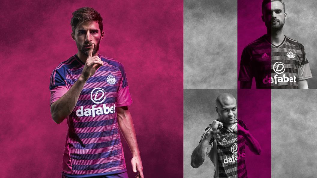 Tercera camiseta Adidas del Sunderland AFC para 2016/2017 | Imagen web oficial