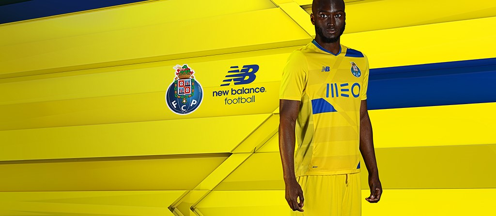Tercera camiseta New Balance del FC Porto para 2016/2017 | Foto web oficial