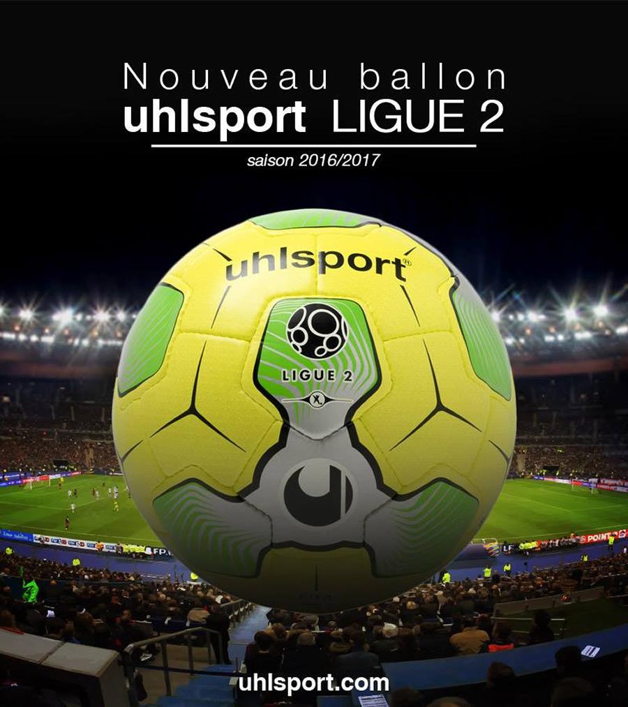 Nuevo balón para la Ligue 2 | Foto Uhlsport