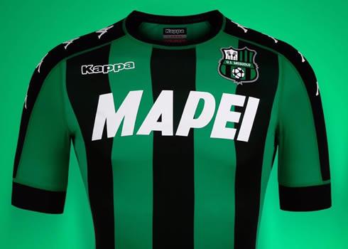Camiseta titular del Sassuolo   Foto Web Oficial