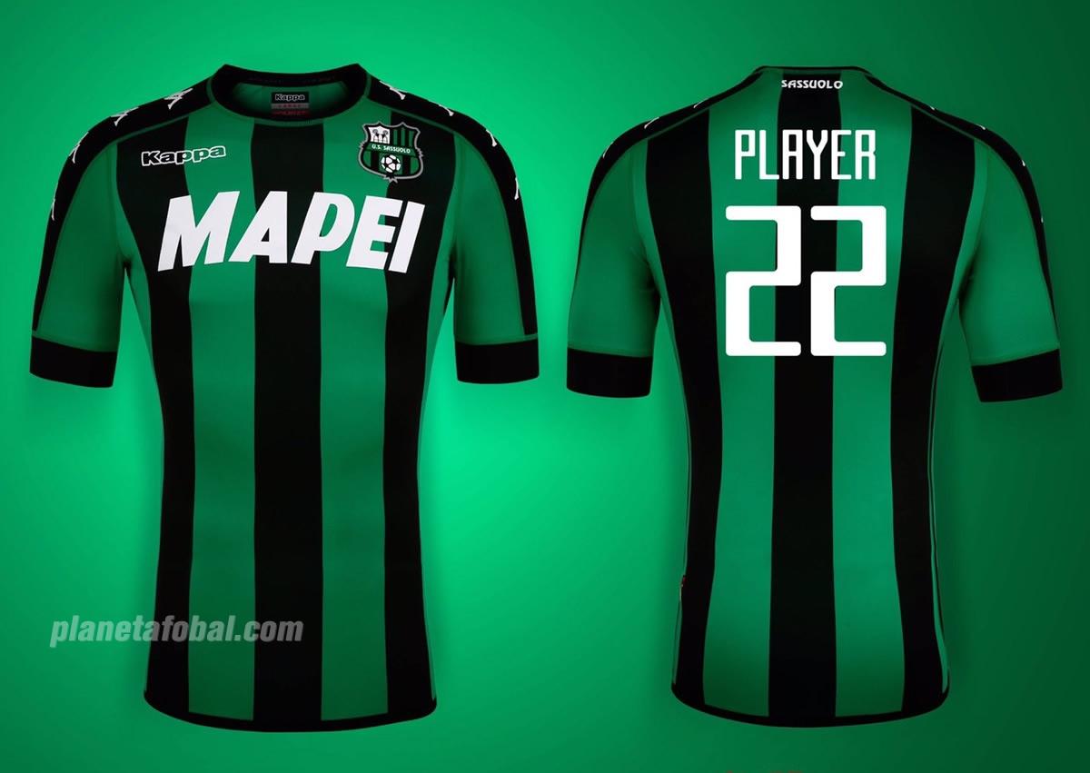 Camiseta titular del Sassuolo | Foto Web Oficial