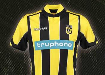 Nuevas casacas del Vitesse   Foto Web Oficial