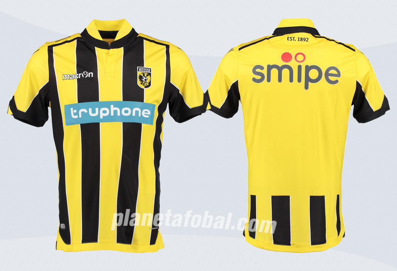 Nuevas casacas del Vitesse | Imágenes Web Oficial