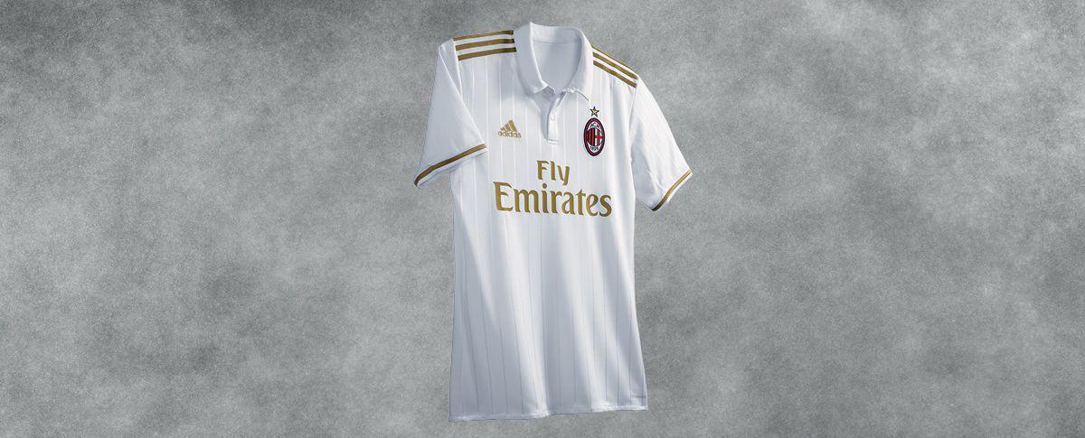 Camiseta suplente del Milan | Foto Web Oficial