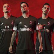 Tercera camiseta del AC Milan   Foto Adidas