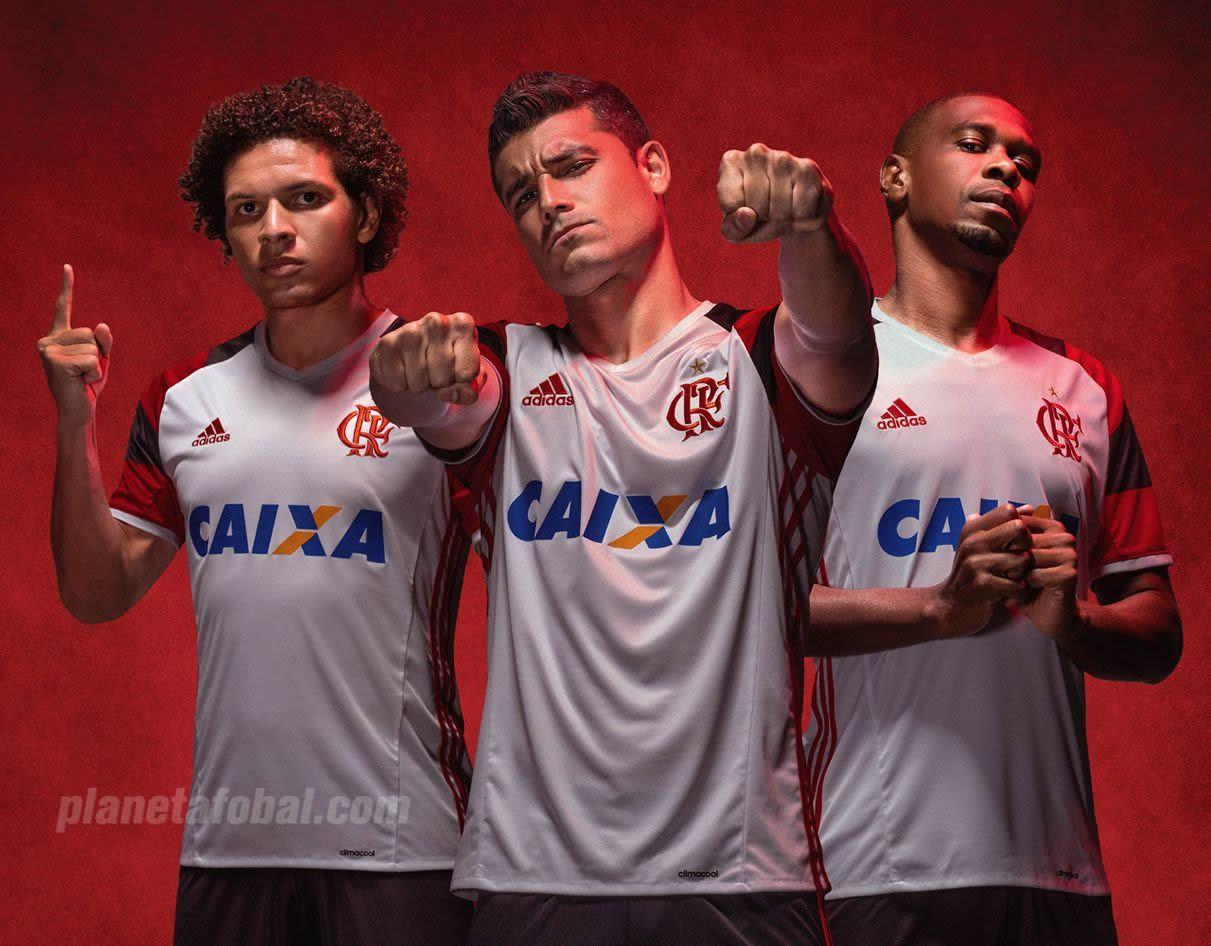 Camiseta suplente del Flamengo | Foto Adidas