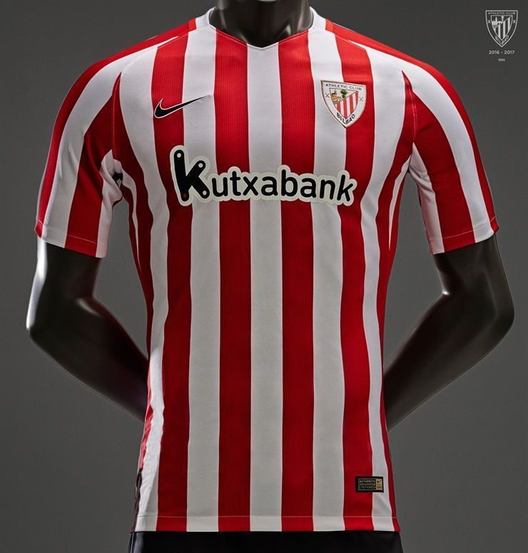 Camiseta titular del Athletic | Foto Web Oficial
