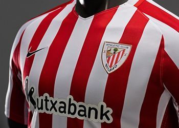 Camiseta titular del Athletic | Foto Web Oficial
