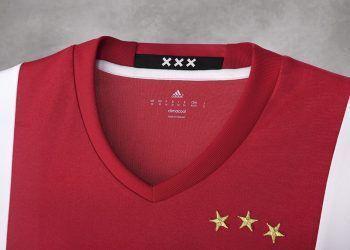 Camiseta titular del Ajax | Foto Web Oficial