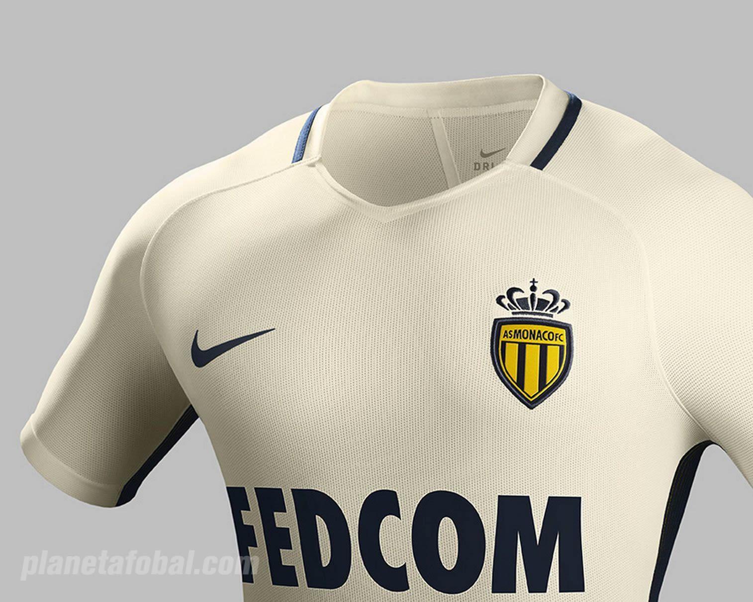 Camiseta suplente del AS Monaco | Foto Nike