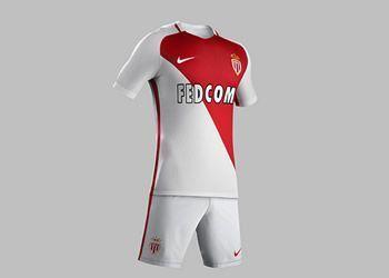 Nueva casaca del AS Monaco | Foto Nike