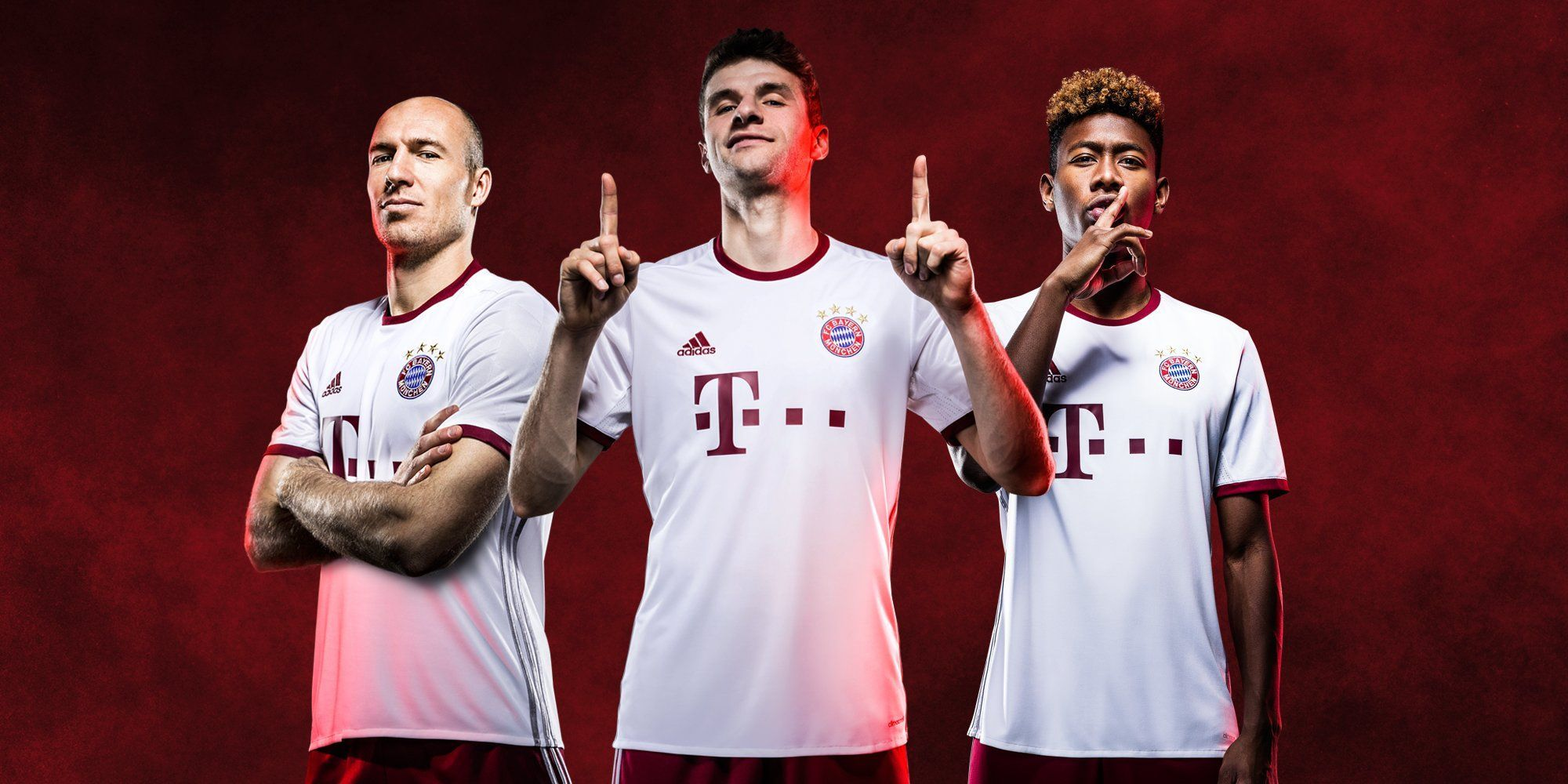 champions league trikot adidas del bayern munich 2016 2017 planeta fobal. Black Bedroom Furniture Sets. Home Design Ideas