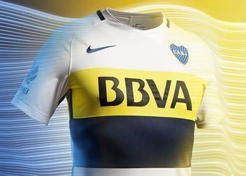 Camiseta suplente de Boca | Imágenes Tienda Oficial